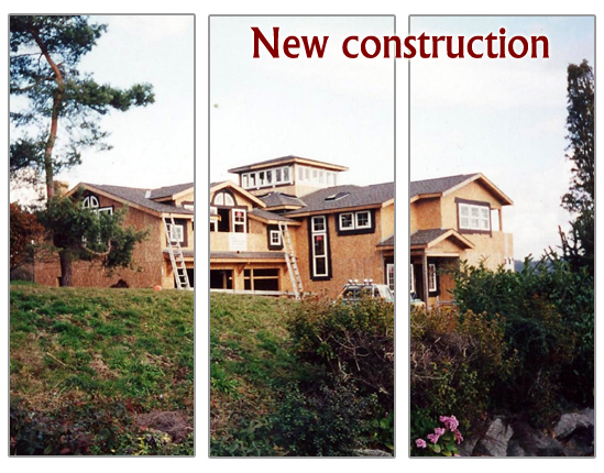 a new home construction